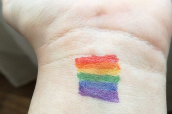 Pride Tattoo on Wrist