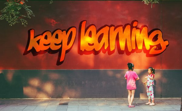 keep learning
