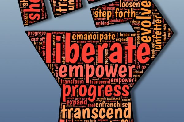 liberate empower progress transcend let go set free