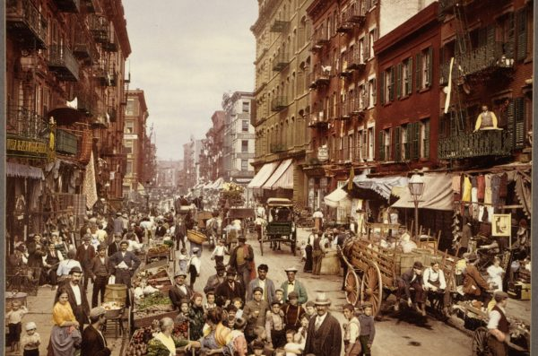 Historical Picture of New York